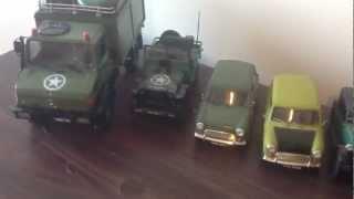 REVELL AND TAMYA 1/24 MODEL CARS INCLUDING MR BEAN MINI model