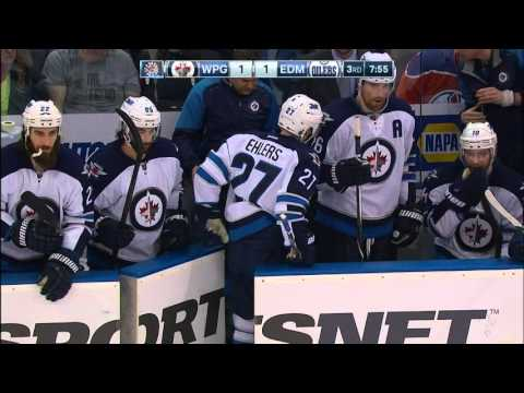 Gotta See It: Ehlers loses an edge... literally
