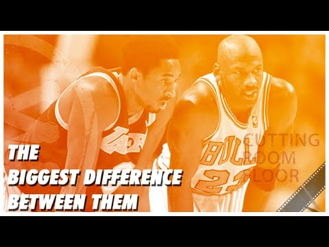 The Biggest Difference Between Jordan And Kobe