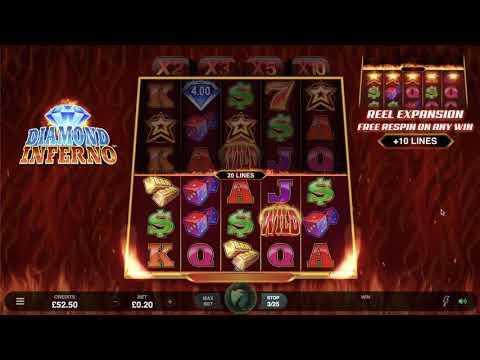 Diamond Inferno slot video review