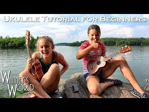 Teaching My Sister How to Play the Ukulele | Whitney & Blakely Bjerken