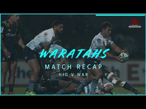 Match re-cap: Highlanders v NSW Waratahs