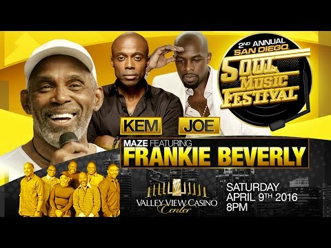 San Diego Soul Fest 2016 @ Valley View Casino Center on April 9th, 2016