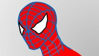 How to Draw Spiderman in 50 seconds