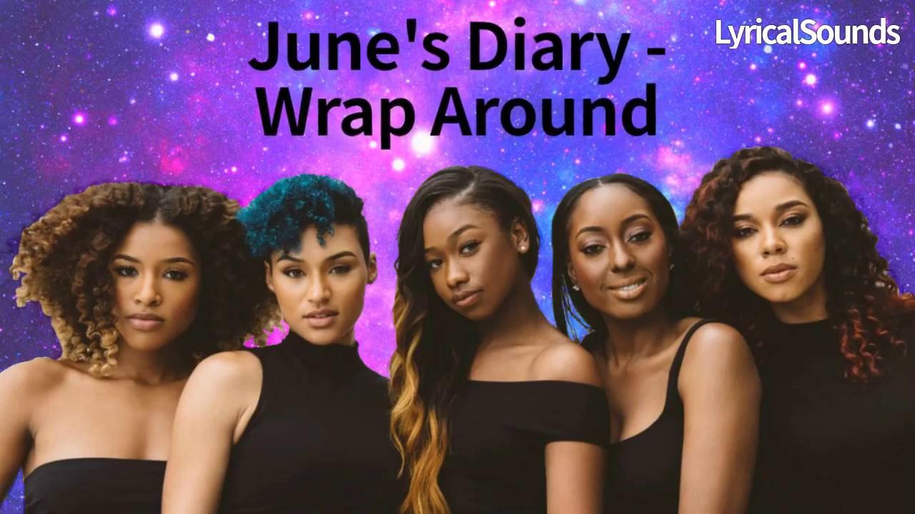Download June's Diary - Wrap Around (Lyric Video) +Download Link