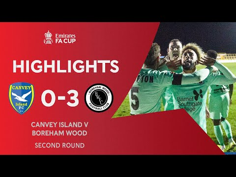 Canvey Island Boreham Wood Match Highlights