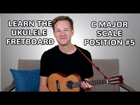 ukulele-scales:-how-to-play-c-major-scale-position-#5-on-ukulele