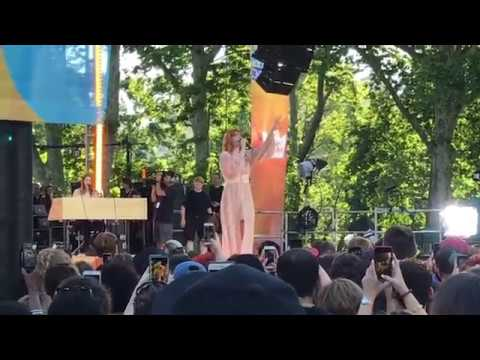 Florence and the Machine  Sky Full Of Song Sound Check GMA Summer Concert June 29, 2018