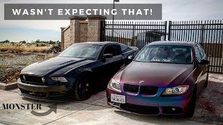 5.0 GT MUSTANG DRIVER DRIVES MY BMW!