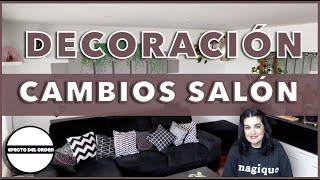 DECORACION CAMBIOS SALÓN   EFECTO DEL ORDEN