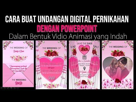 Cara Membuat Undangan Pernikahan Digital