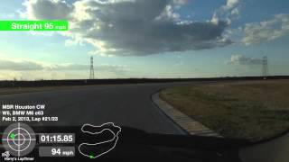 Houston M Club track day at MSR - onboard BMW M6 e63 (session 4)