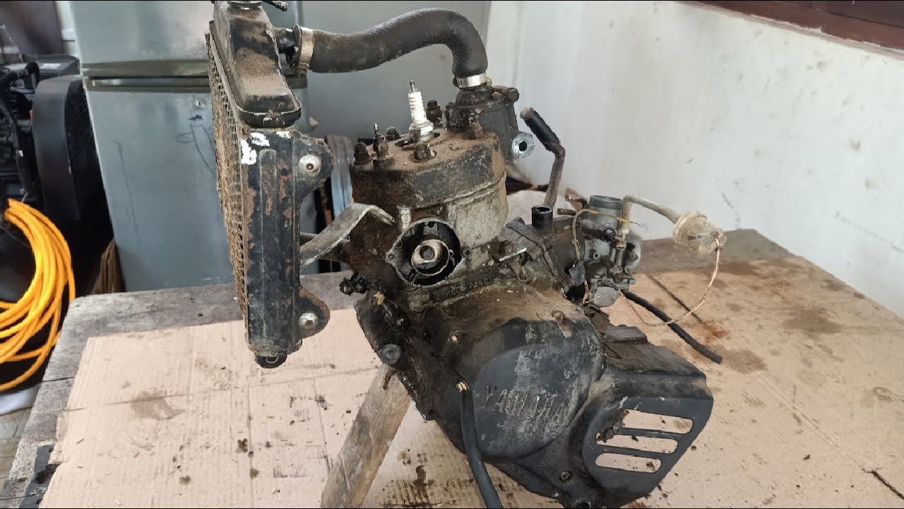 TZR125 Engine Full Restoration