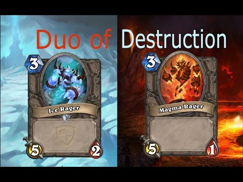 Magma Rager and Ice Rager Deck