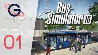 Bus Simulator 16 FR #1 : Découverte