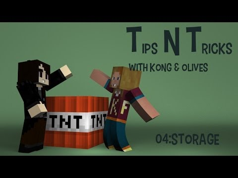 Tips n' Tricks with Kong and Olives Ep: 4 Storage