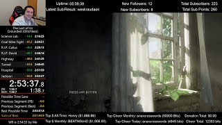 The Last of Us Speedrun World Record! (2:53:37) on Grounded mode (Glitchless)