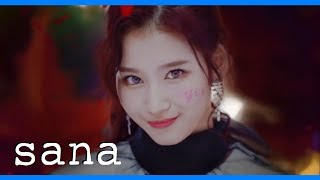 [[2015-2018]] EVERY TWICE music video but only when SANA has a line | (트와이스x사나)