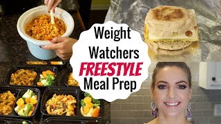 Weight Watchers Freestyle Meal Prep 12.10.17