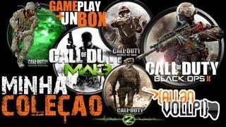 Minha Coleção Call oF Duty+Unbox+GamePlay MW1