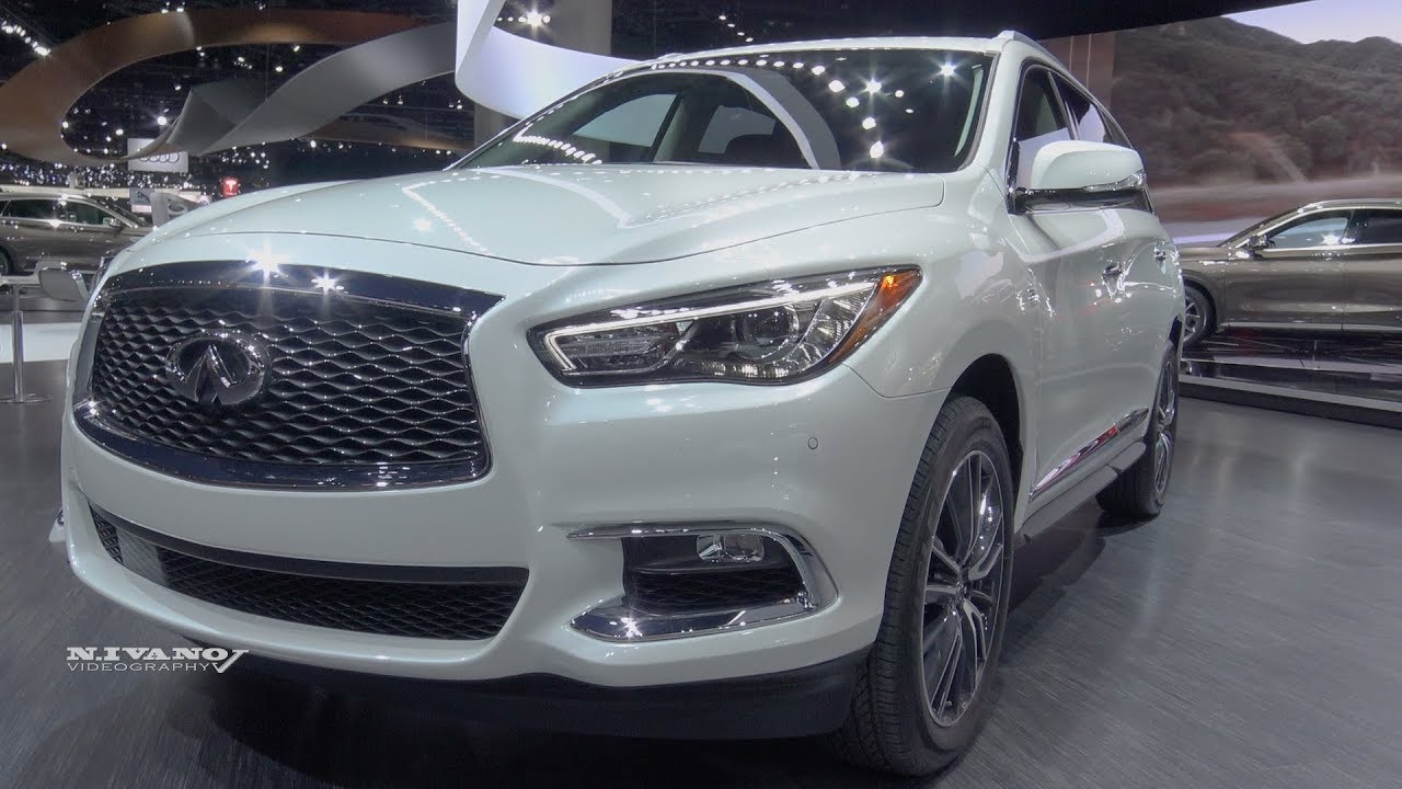 2018 infiniti qx60 exterior and interior walkaround la auto show 2017 youtube. Black Bedroom Furniture Sets. Home Design Ideas