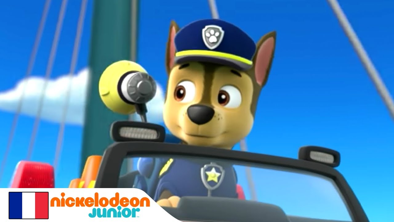 Junior Course Nickelodeon PatrolLa Pat' Paw PatrouilleGrande Automobile D2WH9EIY
