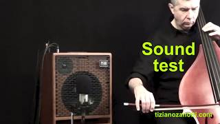 Sound Test - Amplificatore ACUS OneForBass - Contrabbasso e arco