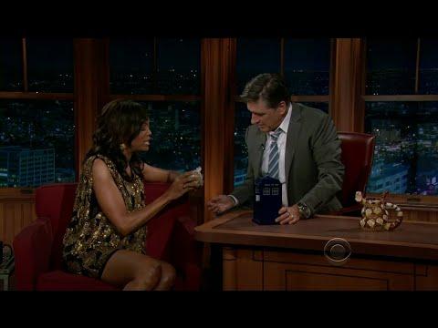 Late Late Show with Craig Ferguson 11/28/2011 Aisha Tyler, Justin Moore
