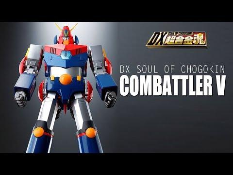 DX Soul of Chogokin ChoDenji Robo Combattler V Review
