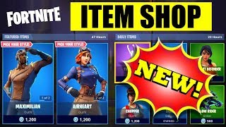 NEW Item Shop SONG September 29, 2018 - FORTNITE - Maximilian & Airheart Skins