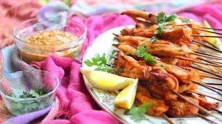 Poulet Satay, au barbecue