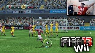 EL FIFA 13 EN LA Wii ERA GENIA…