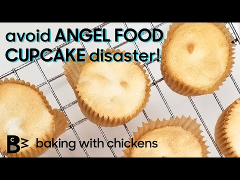 Angel Food Cake in a Cupcake Pan How to avoid common mistakes