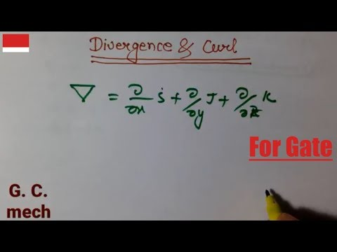 Divergence and curl | Gate paper solution | vector calculus | Engineering mathematics