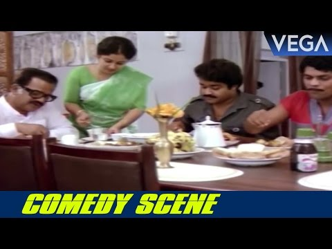Jagathy Sreekumars Conversation With Mohanlals Father || Sukhamo Devi Movie Scenes