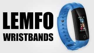 LEMFO Wristbands - Heart Rate Monitor / Fitness Bracelet / IP67 Waterproof