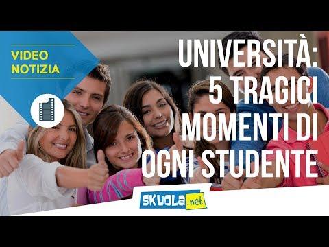 Università: 5 momenti tragici vissuti da ogni studente