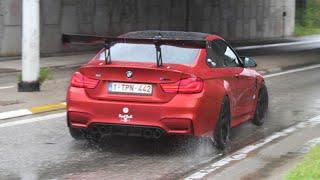 720HP BMW M4 F82 w/ M-performance Exhaust & GTC300 Spoiler | Accerelations , Powerslides , sounds