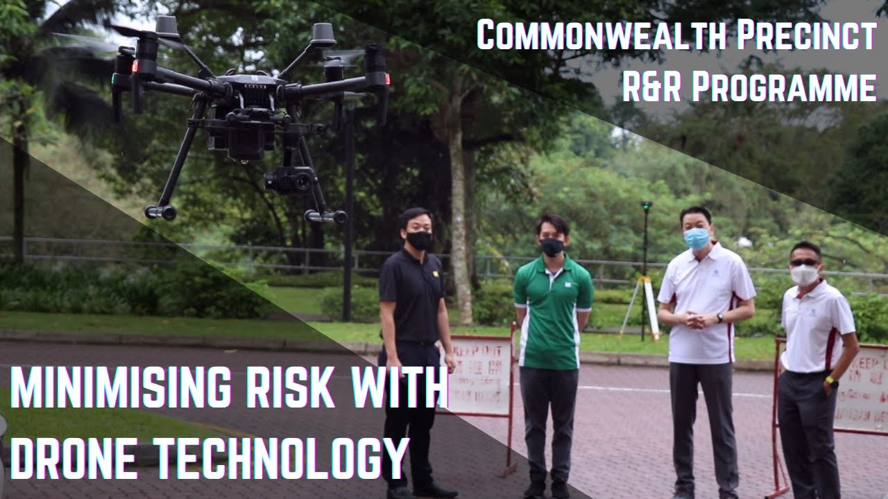 Minimising Risk With Drone Technology