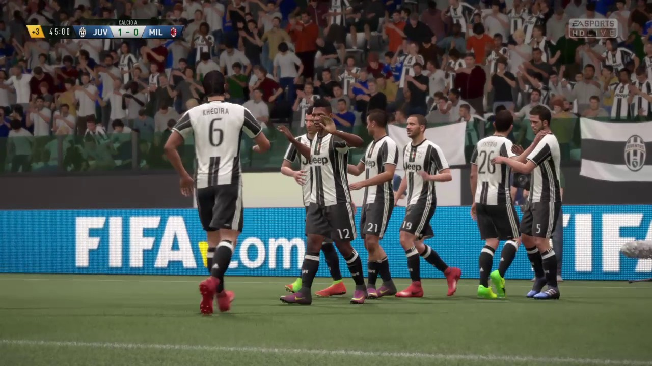 Serie a juventus vs ac milan fifa 17 youtube for Fifa 17 milan