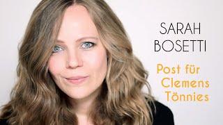 Post von Sarah Bosetti – Folge 13: Post für Clemens Tönnies