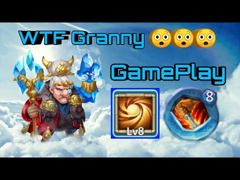 Mahatma | 8/8 SL With 8/8 LD Insingia | Only Raids/Duengeon | GamePlay | Crazy Grandm | Castle Clash
