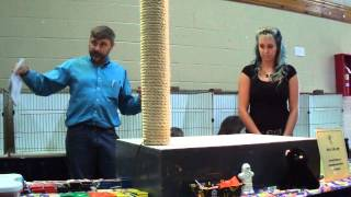 Lykoi Breed Presentation, Part 1 - October 19, 2014 - Evansville IN