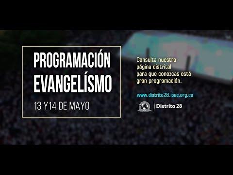 PROGRAMA EVANGELÍSTICO - 13 Y 14 DE MAYO/2018