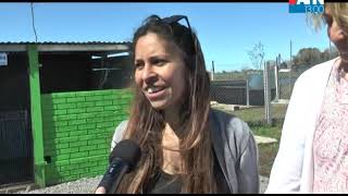 INTEGRANTES DE APACHA   PUESTA EN MARCHA EL CENTRO DE TRANSITO CANINO