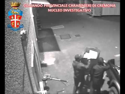 La spaccata al MediaWorld di Gadesco-Pieve Delmona (CR)