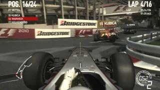 F1 2010 PC - Monaco - Part 1/2