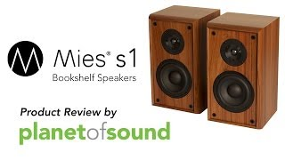 Mies S1 Bookshelf Speakers Product Review From Planet Of Sound