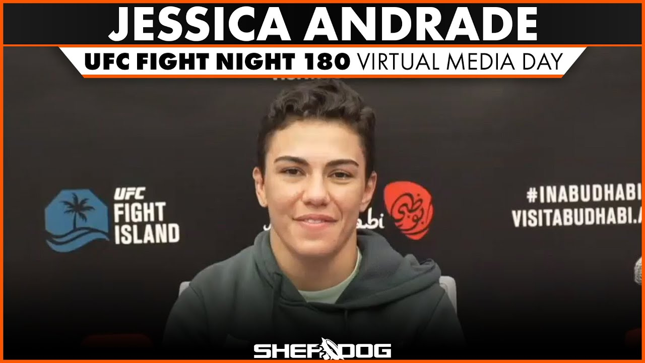 Jessica Andrade Ufc Fight Night 180 Virtual Media Day Interview Youtube