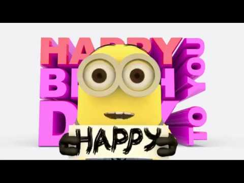 Minions Happy Birthday Song 2017